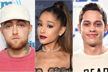 Mac Miller habló por primera vez del compromiso de Ariana Grande y Pete Davidson