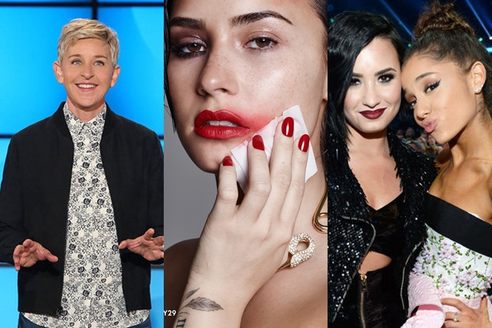 Artistas reaccionan ante la recaída de Demi Lovato