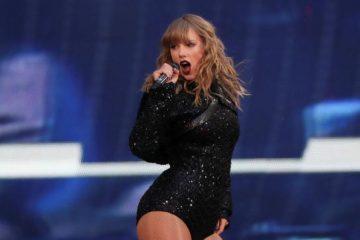 Taylor Swift se cayó en medio de un concierto