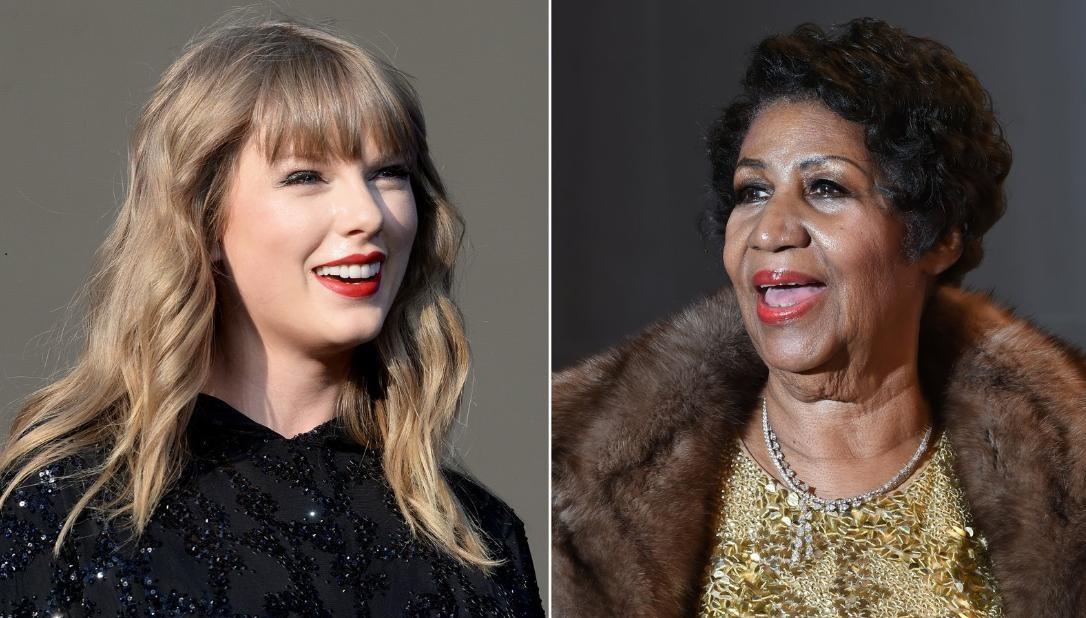 Taylor Swift rinde homenaje a Aretha Franklin en concierto
