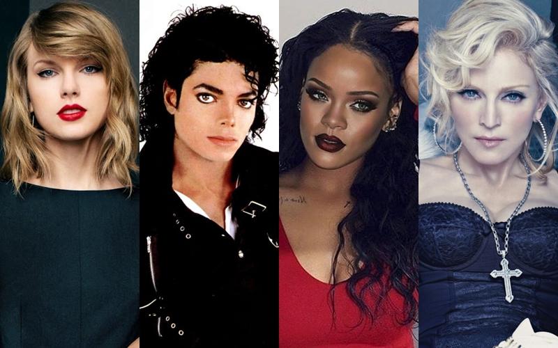 Billboard actualizó la lista de los artistas más exitosos de todos los tiempos en en el Hot 100