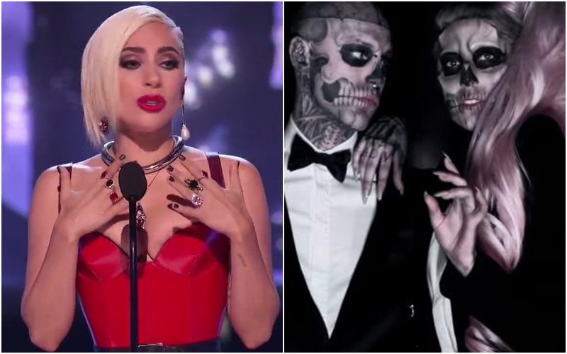 "Lady Gaga lamenta la muerte de 'Zombie Boy' del vídeo de ""Born This Way"""