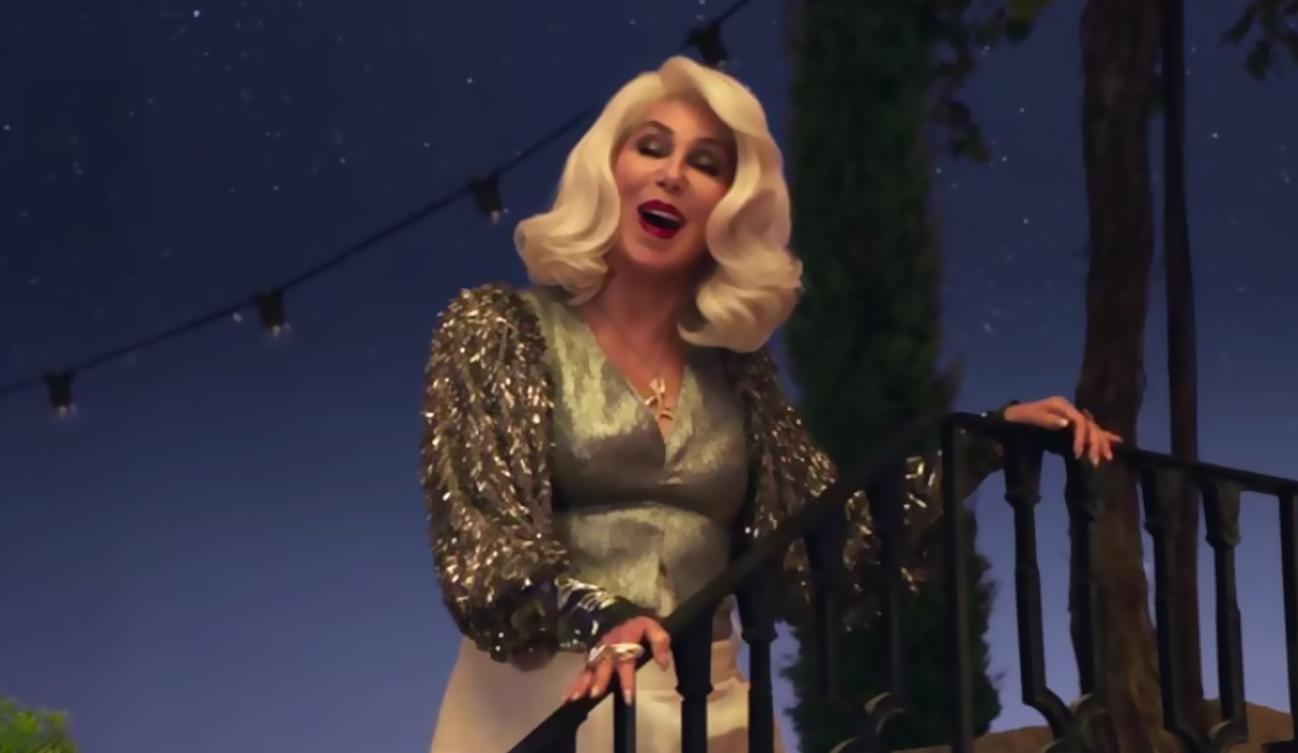 """Cher estrenó el vídeo """"SOS"""" inspirado en ABBA"""