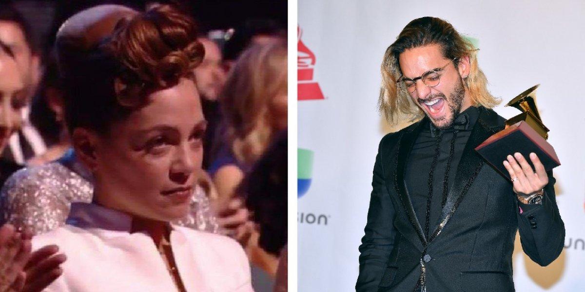 Natalia Lafourcade explica el por qué de su mirada a Maluma en los Grammys