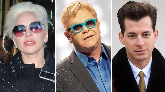 Elton John apuesta su casa por Lady Gaga, Mark Ronson y Shallow