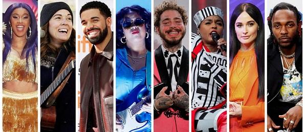 Predicciones de los ganadores del Grammy 2019