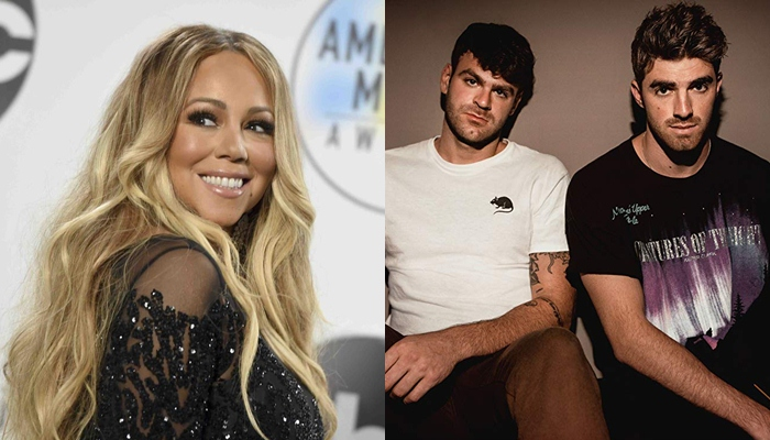 Mariah Carey confundió a The Chainsmokers con One Direction