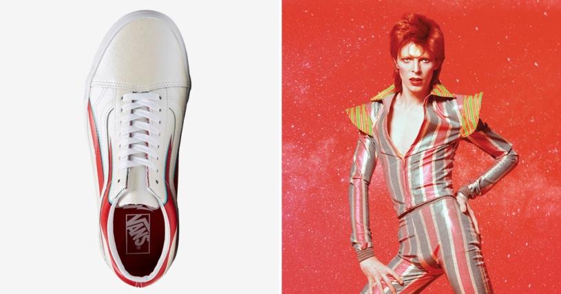 Fabricación Forzado regular  Vans lanzará colección limitada de zapatillas en homenaje a David ...