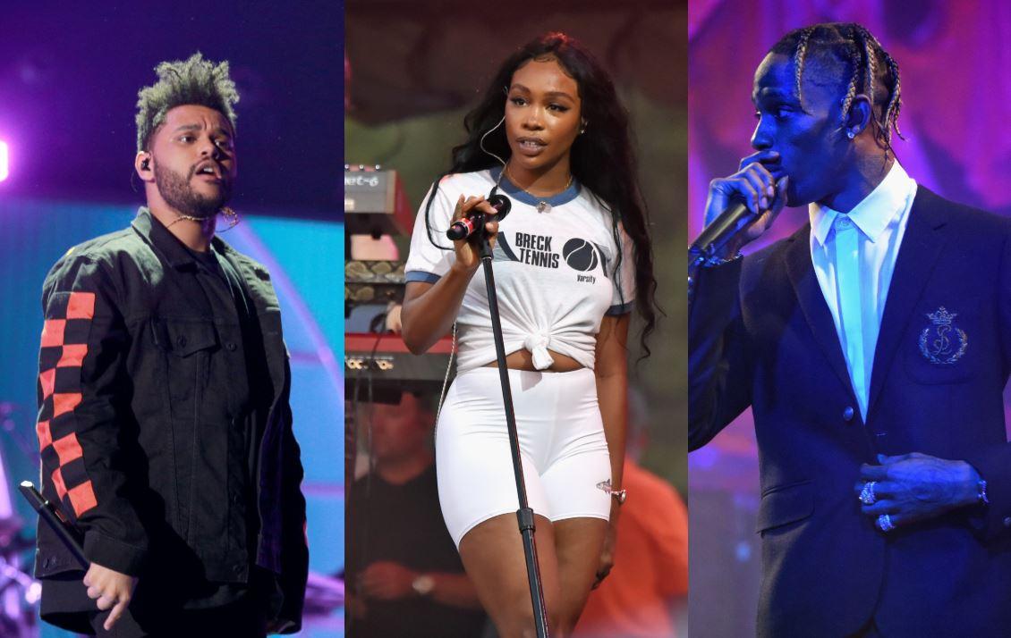 The Weeknd, SZA y Travis Scott juntos en una nueva canción para 'Game Of Thrones'