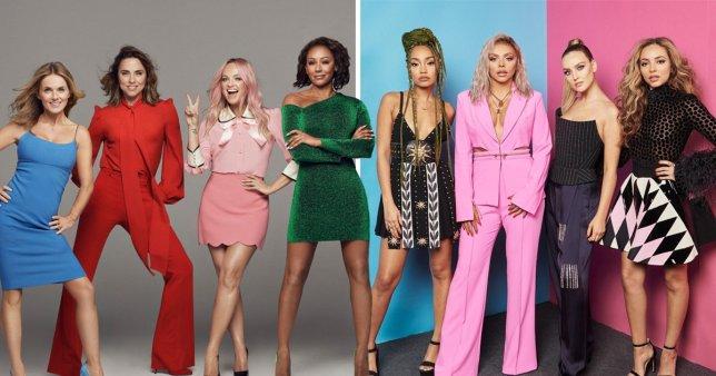 Los singles por Girlbands más exitosos en la historia de UK