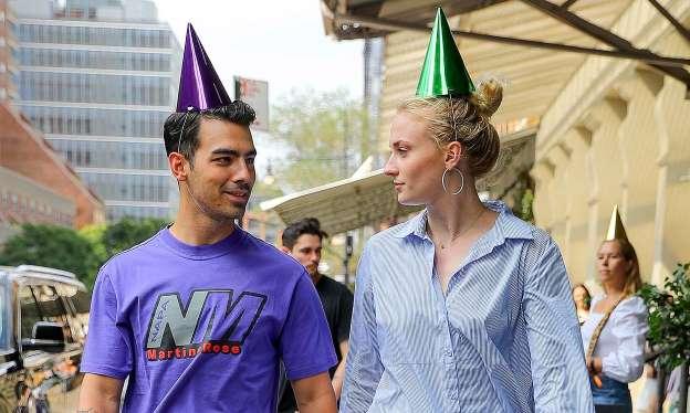 Joe Jonas pasa el mejor cumpleaños al lado de Sophie Turner