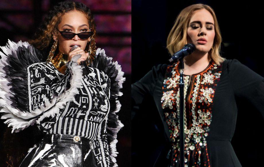 ¡ES OFICIAL! Adele y Beyoncé han grabado una canción juntas