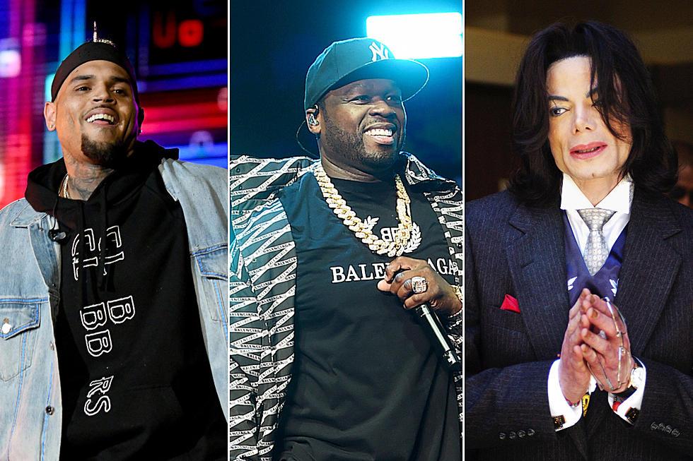 50 Cent declara que Chris Brown es 'mejor' que Michael Jackson