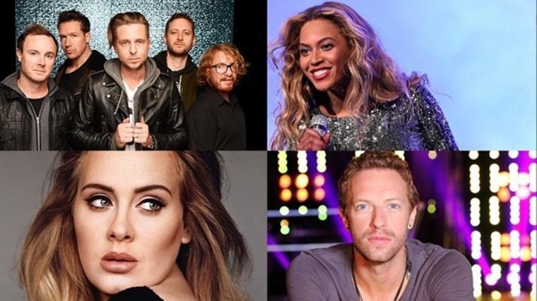 Ryan Tedder afirma que NO habrá una colaboración entre Adele, Beyoncé y Chris Martin