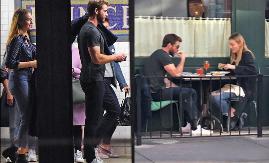 Liam Hemsworth olvida a Miley Cyrus y comienza a salir con una nueva chica