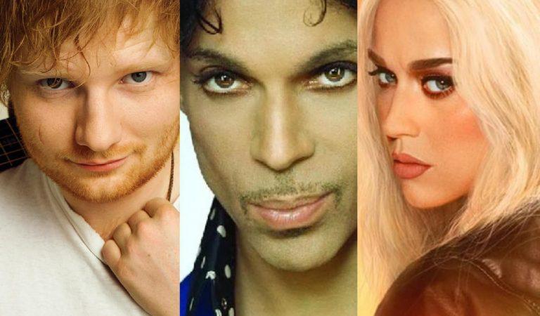 Se revela que Prince odiaba las canciones de Katy Perry y Ed Sheeran