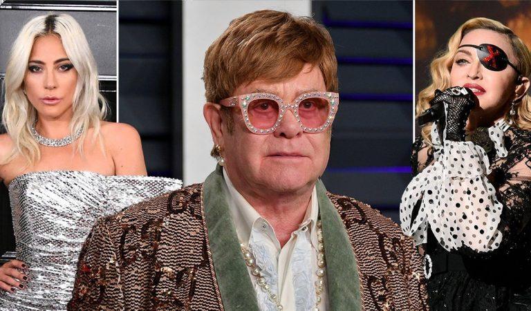 Elton John dice que la carrera de Madonna está acabada y 'defiende' a Lady Gaga