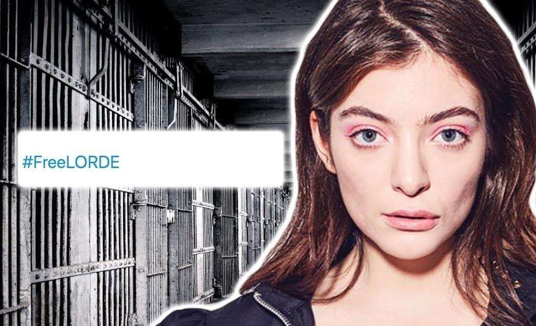 Fans de Lorde crean drama en las redes al revelarse que la artista 'podría ir a prisión'