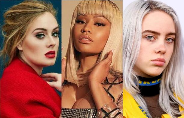 Nicki Minaj quiere iniciar un grupo femenino junto a Billie Eilish y Adele