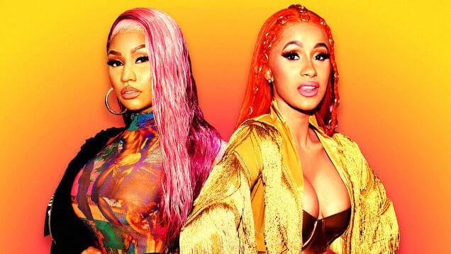 Cardi B busca y enfrenta en persona a fan de Nicki Minaj