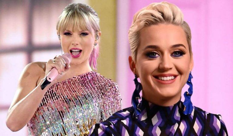 Taylor Swift deja entrever que Katy Perry está siendo utilizada por su disquera