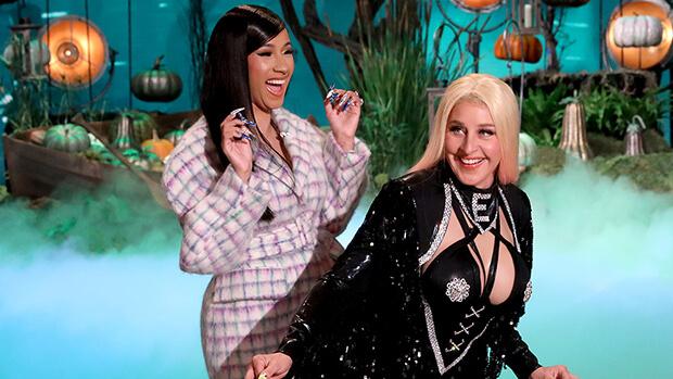 Ellen DeGeneres se disfraza de Cardi B para Halloween y baila 'twerk' en vivo