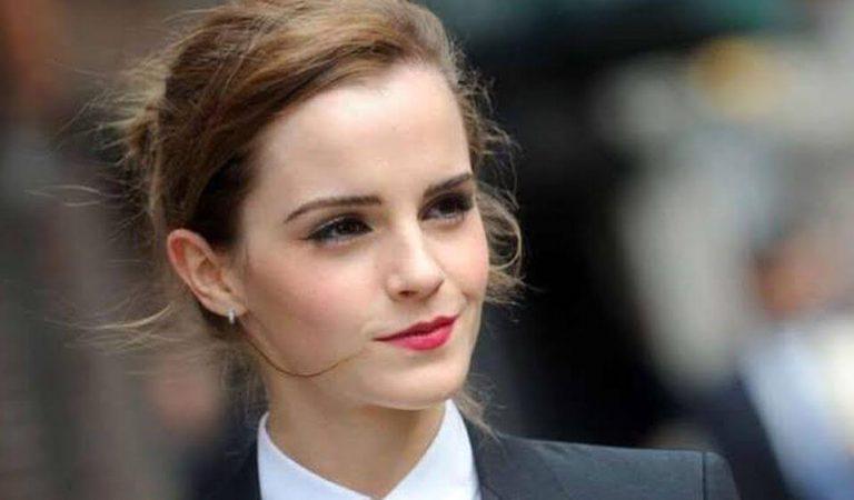 Emma Watson dice que no está soltera porque ella es su propia pareja
