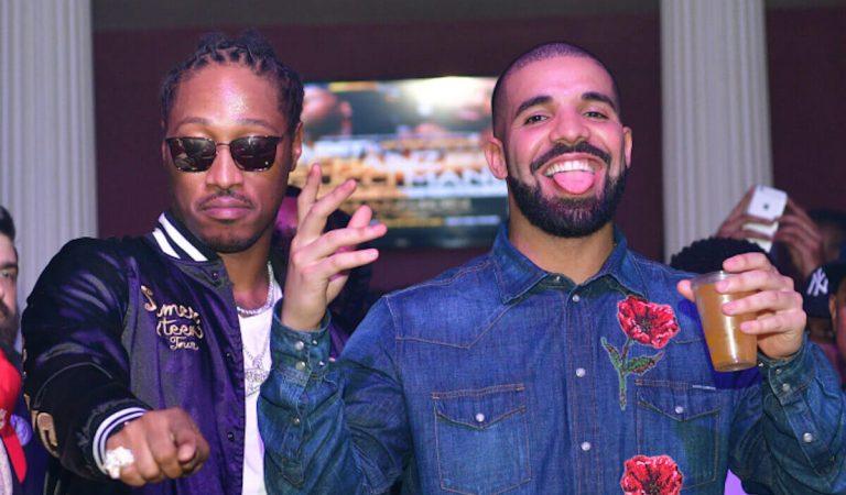 Drake y Future fueron captados trabajando en un McDonald's