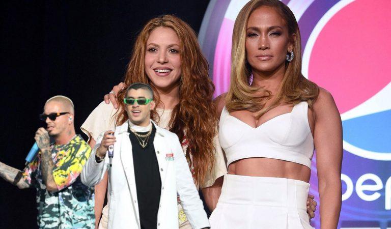 Bad Bunny y J Balvin cantarán en el Super Bowl junto a Shakira y Jennifer Lopez