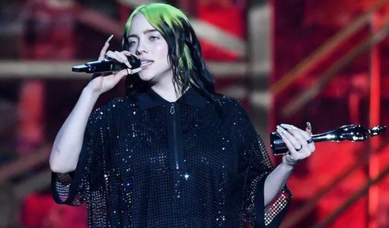 Billie Eilish lloró en los Brit Awards y admitió sentirse muy odiada