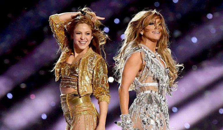 Shakira y Jennifer Lopez llevaron el poder latino a su show en el Super Bowl