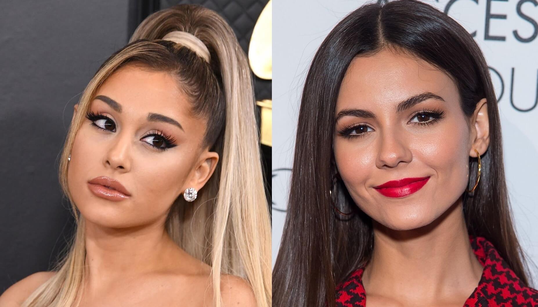 Victoria Justice Denies Ariana Grande Feud! - YouTube