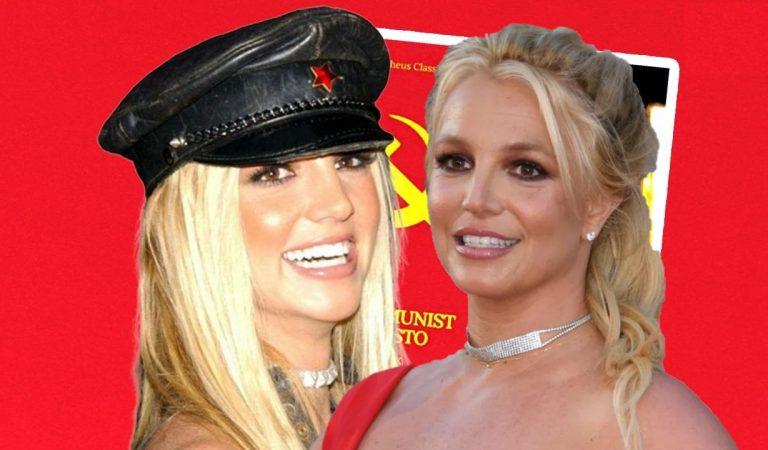 Britney Spears llama a una revolución mundial y es nombrada reina del comunismo