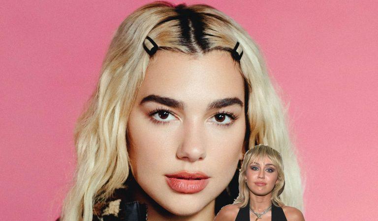 Dua Lipa es nombrada 'la nueva princesa del pop' por Miley Cyrus