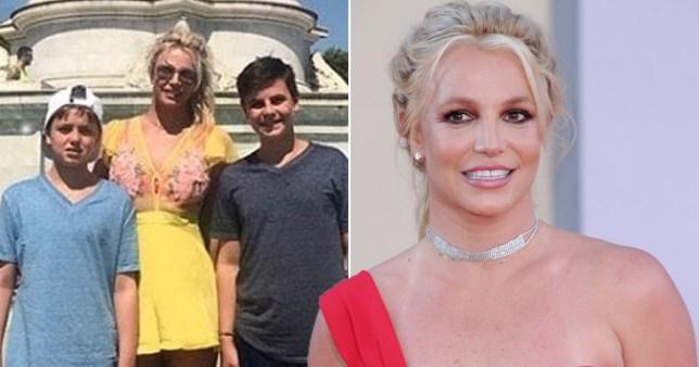 Hijo de Britney Spears revela que su madre se retirará de la música para siempre