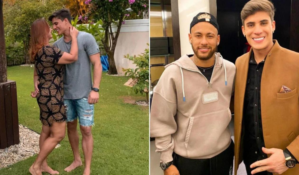 El nuevo padrastro de Neymar es casi 30 años más joven que su madre