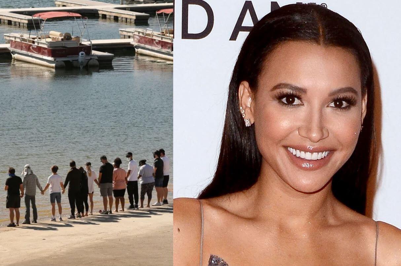 Naya Rivera fue encontrada mientras el elenco de Glee rezaba por ella en el lago Piru