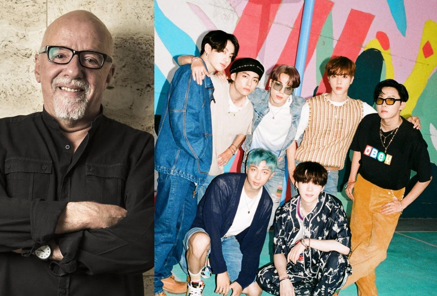Paulo Coelho dice que BTS es «el grupo más importante del mundo» y se declara ARMY