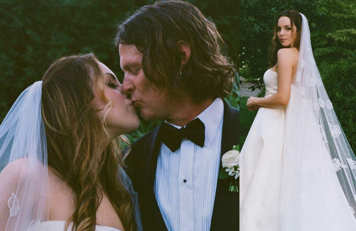 Elizabeth Gillies se casó con Michael Corcoran el 8 de agosto en una ceremonia secreta