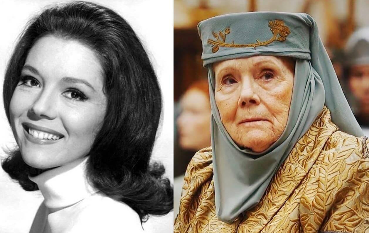 Fallece Diana Rigg, actriz de Game of Thrones, The Avengers y James Bond a los 82 años