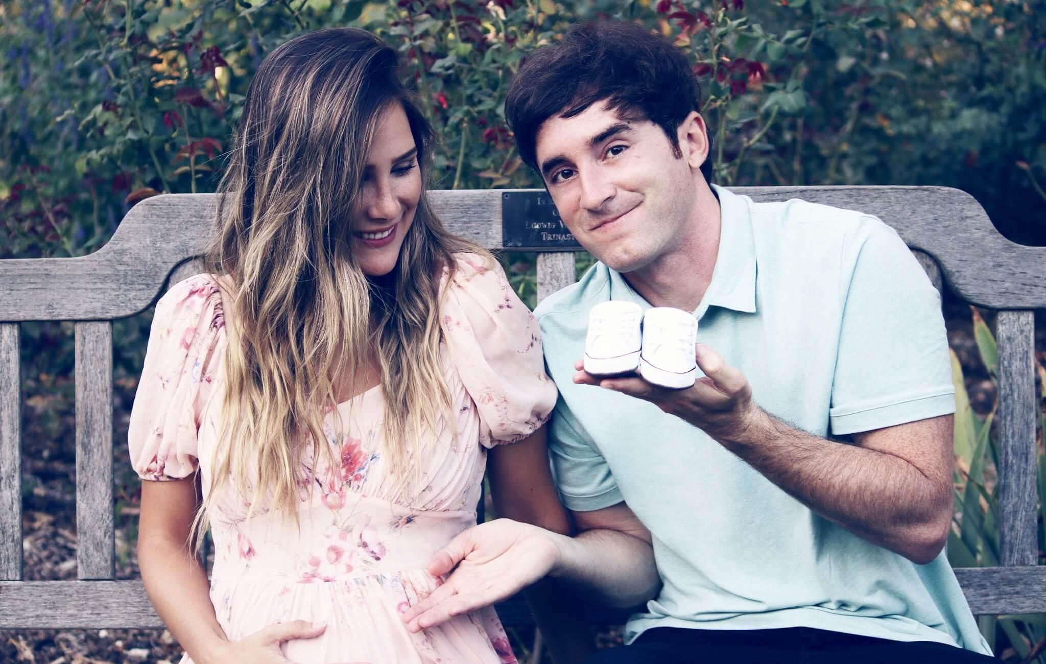 Youtubers Luzu y Lana Holmes revelan que están en la dulce espera de su primer hijo
