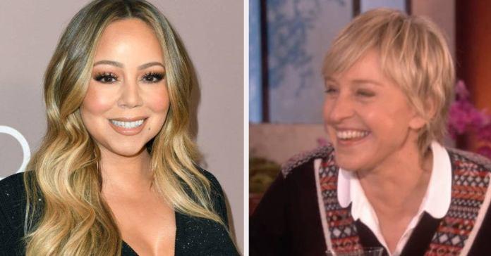 Mariah Carey habla de como Ellen DeGeneres la 'presionó' a confirmar su embarazo