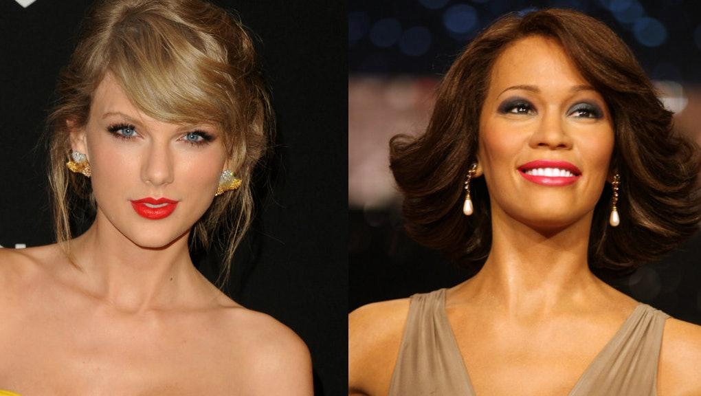 Taylor Swift se une a Whitney Houston en ser las artistas con más semanas en el #1 de Billboard 200