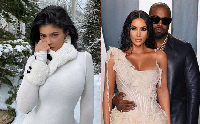 Kim Kardashian 'da a luz' a Kylie Jenner en video filtrado de Kanye West
