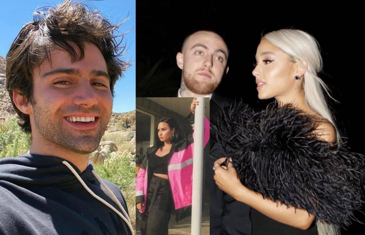 Ariana Grande usó a Mac Miller para publicidad según Max Ehrich, ex de Demi Lovato