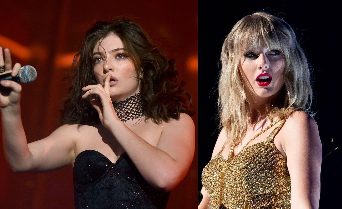 El regreso a la música de Lorde podría ser una colaboración con Taylor Swift