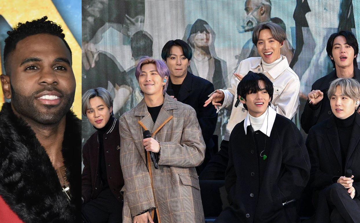 Fans de BTS acusan a Jason Derulo de usar a la banda por intereses comerciales