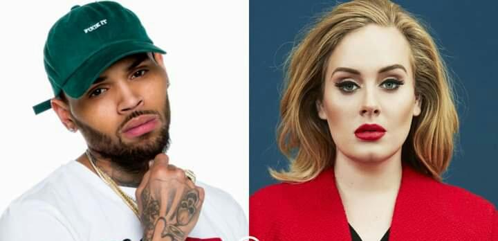 Adele y Chris Brown estarían en una relación amorosa, reporta The Sun