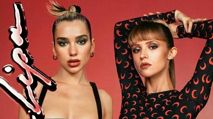 """Dua lipa y Angéle estrenan una nueva colaboración titulada """"Fever"""", disponible en todas las plataformas digitales"""
