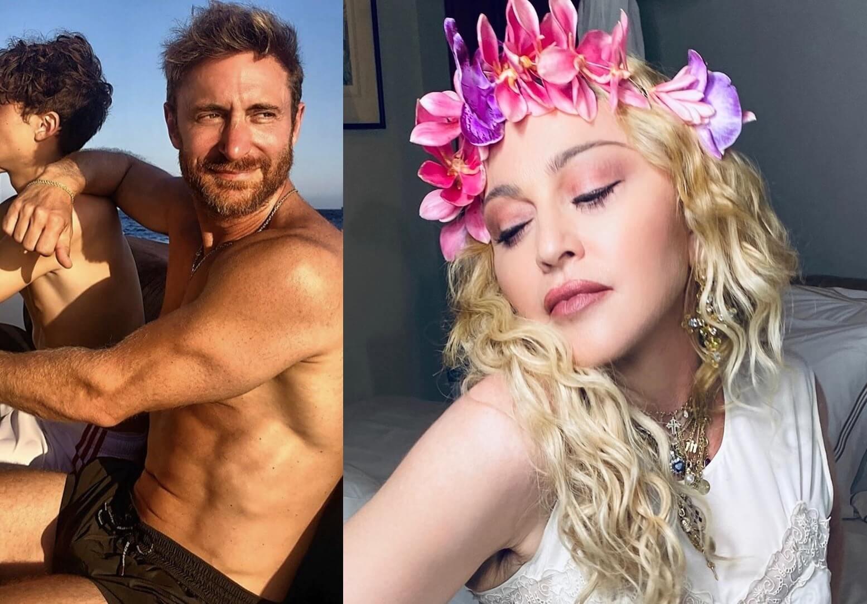 Madonna rechazó colaborar con David Guetta luego de descubrir su signo zodiacal